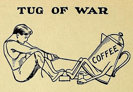 Detail of an advertisement for Postum in St Nicholas magazine, May 1905