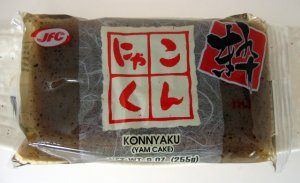 Photo of konnyaku (yam cake)