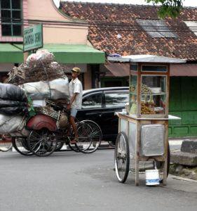 Carts in Yogyakarta Indonesia