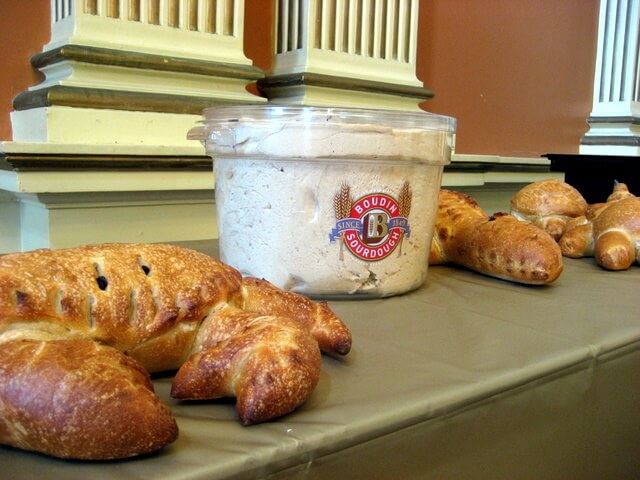 Boudin sourdough starter and Boudin bread, San Francisco