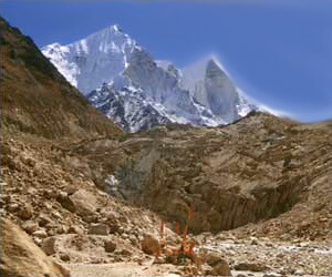 Gaumukh Glacier from Wikimedia Commons