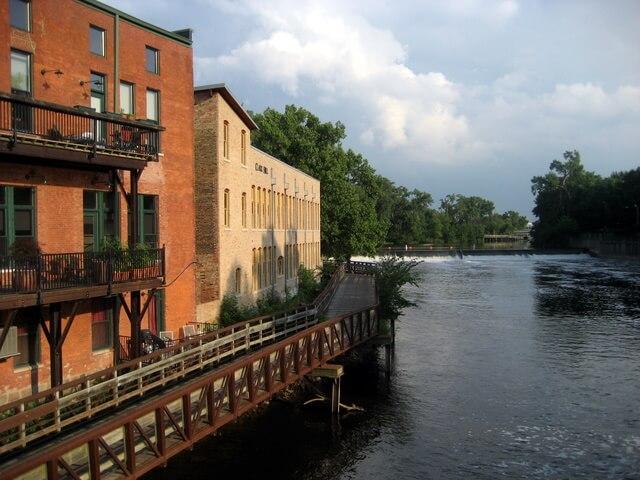 River Trail in Lansing, Michigan