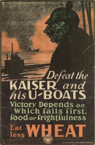 Defeat the Kaiser - US Food Administration Poster - World War 1