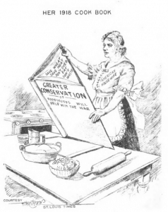 Her 1918 Cookbook - from Win the War Cook Book