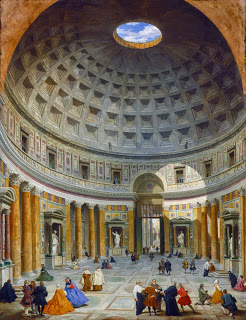 Painting of the Pantheon from the National Gallery of Art (USA)