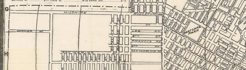 Wilshire 1902 - Henry Rueger Map