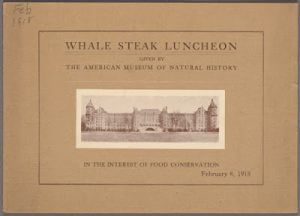 Whale Meat Luncheon menu cover 1nypl.digitalcollections.c37c22b3-23ea-835e-e040-e00a18066b39.001.w