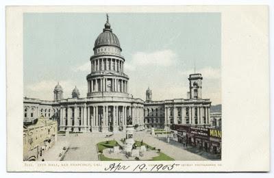 San Francisco City Hall 1905