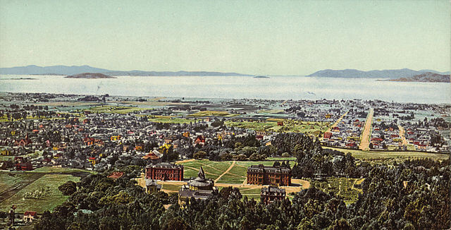 Berkeley and Golden Gate from Wikimedia Commons