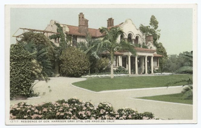 Harrison Grey Otis residence on Wilshire Boulevard, Los Angeles (demolished)