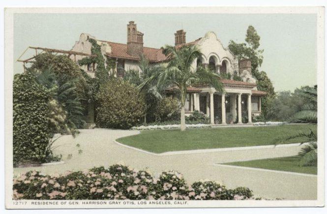 Harrison Grey Otis residence on Wilshire Boulevard, Los Angeles (demolished)