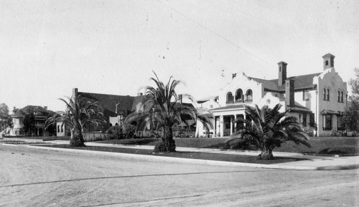 Wilshire Boulevard Residences 1900 from Los Angeles Public Library