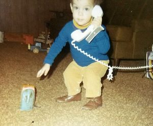 Working the phone, 1972