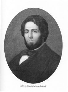 Herman Melville 1846-47 from Wikimedia Commons