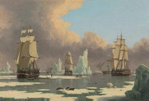 The Northern Whale Fishery, The Swan and Isabella, c. 1840, John Ward of Hull, A11984 from NGA