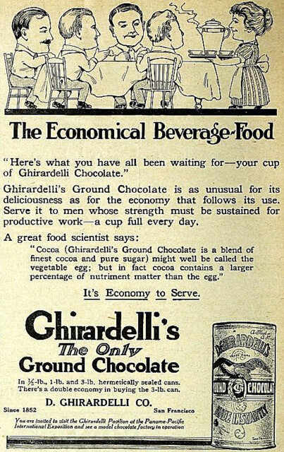 advertisement-for-ghirardellis-ground-chocolate-the-utah-farmer-november-20-1915