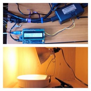 Arduino-controlled bread dough proofing chamber