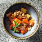 Provencal Vegetable and Chickpea Stew