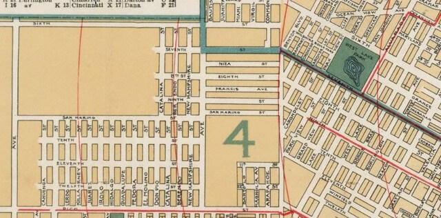 Wilshire 1897 - west - Maxwell's Los Angeles City Guide