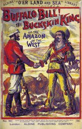 """Buffalo Bill - The Buckskin King, or the Amazon of the West"", book cover from the British Library"