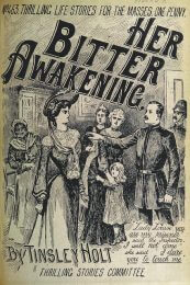 """Her Bitter Awakening"", book cover from the British Library"