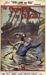 """The Skipper of the Seagull"", book cover from the British Library"