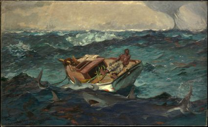Winslow Homer Gulf Stream - from the Metropolitan Museum of Art DP140858