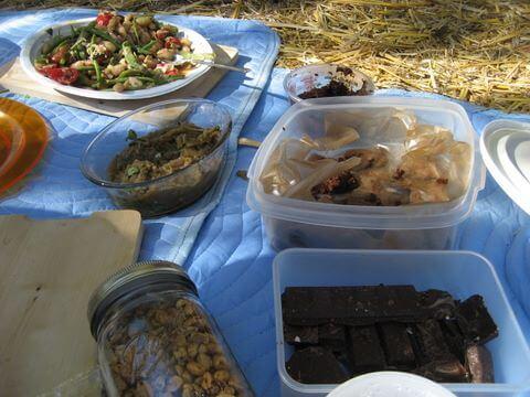 Food blogger picnic at Alemany Farm, San Francisco