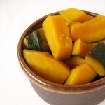 Kabocha squash simmered with lemon