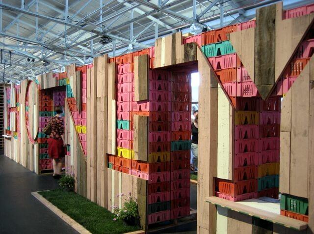 Honey and preserves pavilion at Slow Food Nation, San Francisco