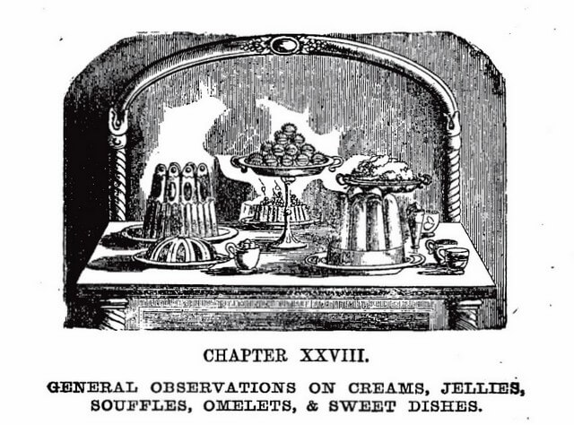Chapter heading from Book of Household Management by Isabella Beeton